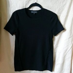 Banana Republic black T-shirt size S
